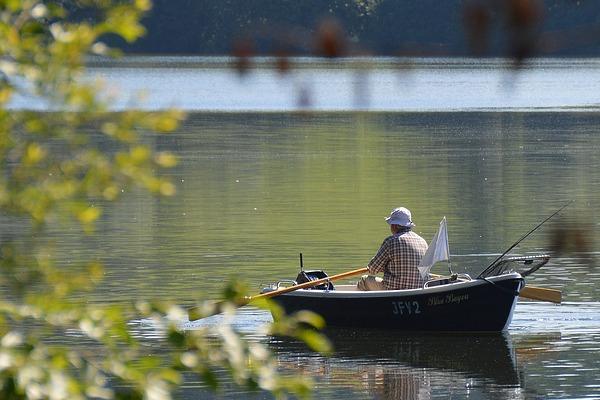 Pêche au Lac du Der