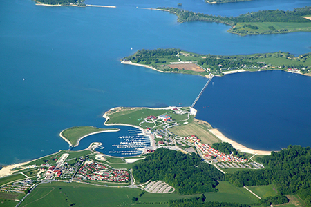 The lake of Der
