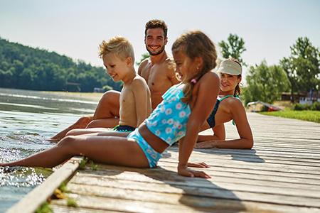 Séjour en famille au Lac du der